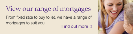 Mortgages: View our range of products