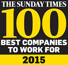 The Sunday Times 100 best companies
