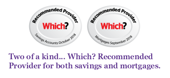 Two of a kind. Which? Recommended Provided for both savings and mortgages