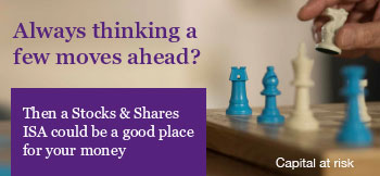 Always thinking a few moves ahead? Then a Stocks and Shares ISA could be a good place for your money.