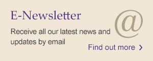 E-Newsletter: Receive all our latest news and updates by email