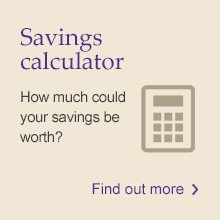 Savings calculator: How much could your savings be worth?