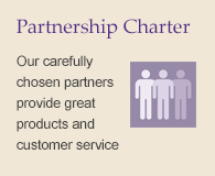 Find out more about our partners with our Partnership Charter