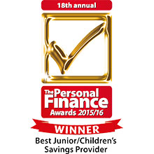 Personal Finance Awards: Best Junior/Children's Savings Provider 2013/14